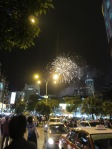 Fireworks in KL on NYE:Image by notaisihati