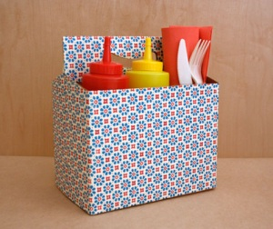 Six pack caddy from Design  Sponge